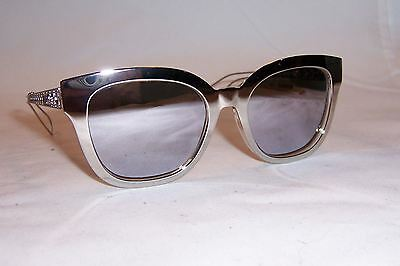 NEW CHRISTIAN DIOR Diorama 1 S TGU-DC SILVER SILVER MIRROR SUNGLASSES  AUTHENTIC 22e545740968