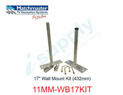 "MATCHMASTER 17"" Wall Mount Kit (432mm)  11MM-WB17KIT"