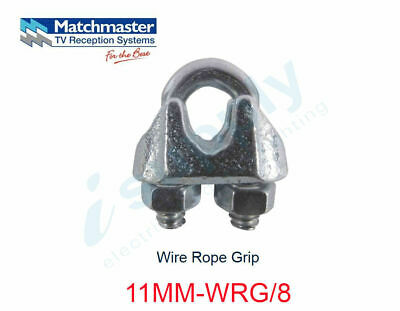 MATCHMASTER 8 x Antenna Wire Rope Grip  11MM-WRG/8