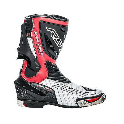 RST Tractech Evo Flo Red Boots 1516 Size EU 42 (UK 8)    **PRICE £149.99**