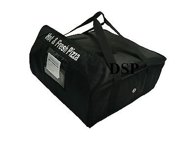 """PIZZA DELIVERY BAG (Size  20"""" X 20"""" X 7"""") Full Insulated all sides keep it warm"""
