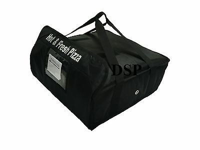 "PIZZA DELIVERY BAG (Size  20"" X 20"" X 7"") Full Insulated all sides keep it warm"