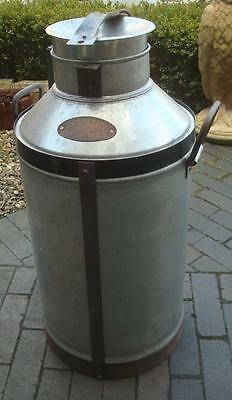 Large Galvanised Metal Milk Churn - Country Dairies