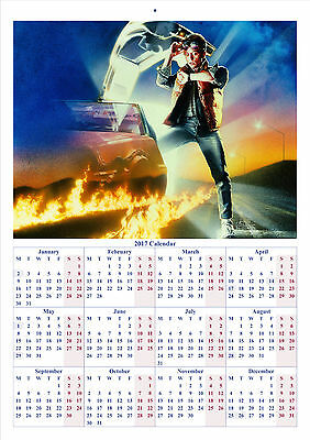 Back to the Future - 2017 A4 CALENDAR **BUY ANY 1 AND GET 1 FREE OFFER**
