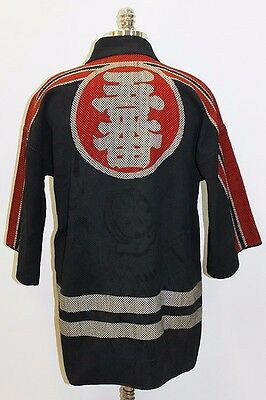 Wonderful 1930's Japanese Fire Chief Jacket - Fire Company #5