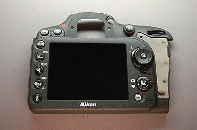 Nikon D7100 Rear Cover Assembly Authentic Original Part OEM + LCD and Key A0003