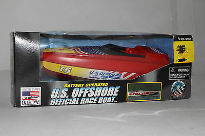U.s. Offshore Official Race Boat, 1:64 Scale. Boxed