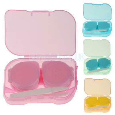 5 Colors Mini Pocket Size Contact Lens Travel Kit Case Storages Holder Container