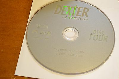 Dexter Second Season 2 Disc 4 Replacement DVD Disc Only 47-88