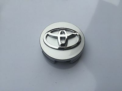 NEW TOYOTA 1 Pc SILVER WHEEL HUB CAPS 62MM CENTER WHEELS EMBLEM CAP LOGO