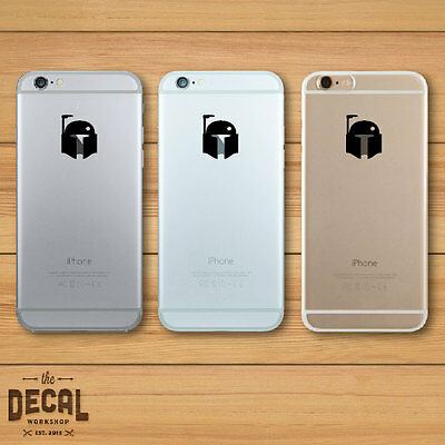 Star Wars inspired Boba Fett iPhone iPhone Sticker / iPhone Decal / Cover / Skin