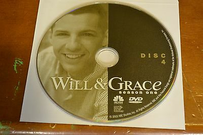 Will & Grace First Season 1 Disc 4 Replacement DVD Disc Only 35-62