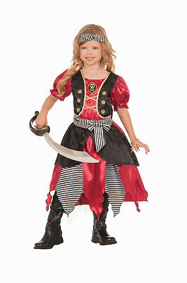 Buccaneer Princess Pirate Child Girls Costume NEW