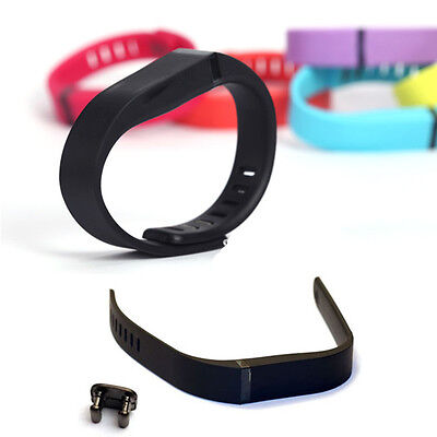 Large/ Small Replacement Wrist Band w/Clasp For Fitbit Flex Bracelet New