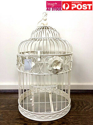 26cm Dia Wishing Well Bird Cage Wedding Flat Packed Card Keeper Post Box JB1087S