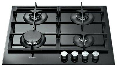 Whirlpool AKT 6455 NB Built-in Black Glass Kitchen Gas Hob Brand New!!!