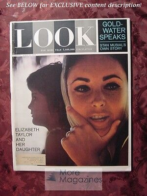 LOOK April 21 1964 4/21/64 ELIZABETH TAYLOR MARY TYLER MOORE STAN MUSIAL +++