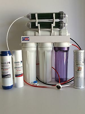 Aquarium Reef Reverse Osmosis 6 stage RO/DI SYSTEM MADE IN USA