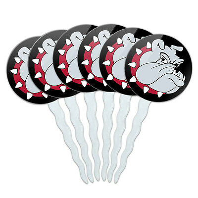 Set of 6 Cupcake Picks Toppers Decoration Dog Puppy