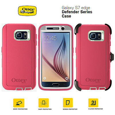 Samsung Galaxy S7 edge Genuine Otterbox Defender Series Shock Proof Case Cover