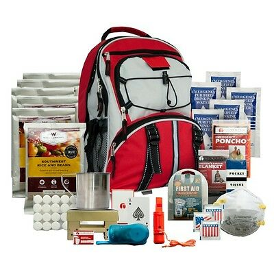 Wise Food 5 Day Survival Backpack Bugout Bag First Aid & Dehydrated Meals
