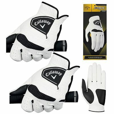 Callaway Xtreme 365, 2-Pack (2 Left Hands) Golf Gloves, Ladies Size Options