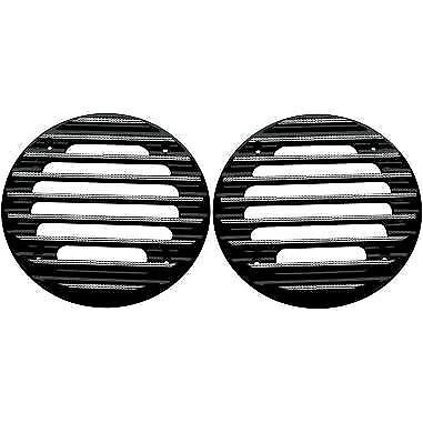 Rear Finned Speaker Grilles Covingtons Black Diamond Edge C0022-D