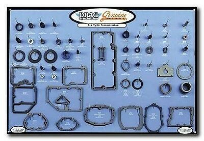 Gasket/Seal/O-Ring Display for Big Twin 5-Speed Trans. Drag Special 0934-0287