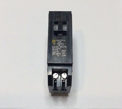 New Circuit Breaker Eaton Cutler Hammer CHNT1515 15/15 Amp Two 1P 120/240v Twin