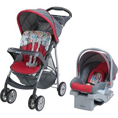 Stroller Car Seat Travel System Combo 3 In 1 Baby Cradle Toddler Carriage Unisex