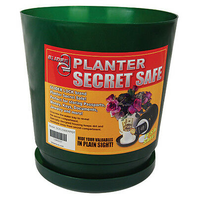 Flower Pot Diversion Safe/ Stash Box Home & Personal Security Container