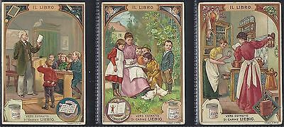 Liebig-*s0562*-Full Set Of 6 Cards- Italian - The Book