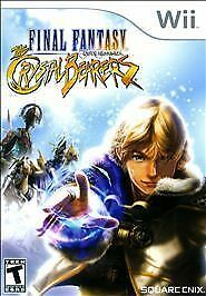 NEW Final Fantasy Crystal Chronicles: The Crystal Bearers (Nintendo Wii, 2009)