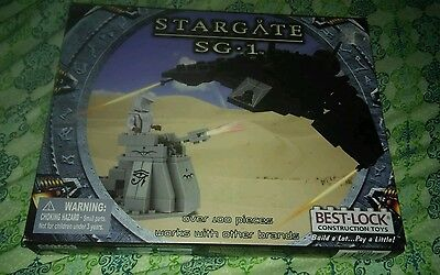 rare set STARGATE SG-1 DESERT FIGHT JAFFA BEST-LOCK CONSTRUCTION TOY lego legos