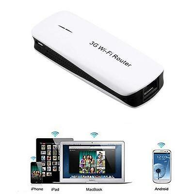 5 en 1 3G Portable 150Mbps Wireless Router WIFI Hotspot Mobile Charger N  DD