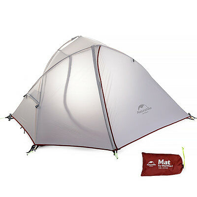 Naturehike 3 Season Camping Tent Double Layer Dome Tent Waterproof 2 Person Tent