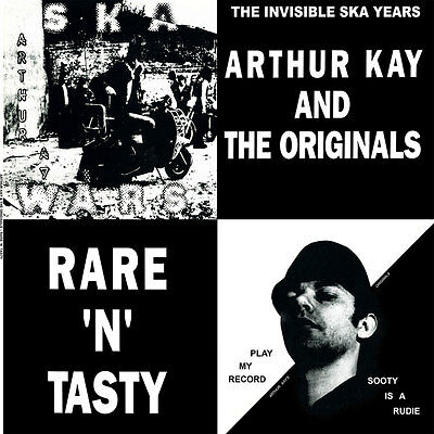ARTHUR KAY AND THE ORIGINALS RARE `N`TASTY LP (black vinyl)