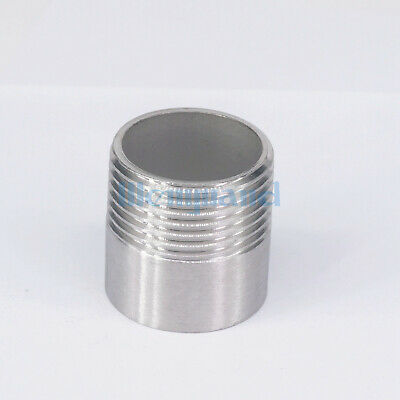 "1"" BSP Female  304 SS Pipe Fitting Weld Nipple Coupling Connector  water"