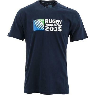 Canterbury England 2015 Rugby World Cup Logo Tee Rugby Shirt Short Sleeve