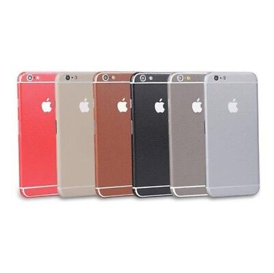 iPhone Leather Sticker Cover Skin Case For 5 6 6S 6+ 7 7+ Full Body Wrap Decal