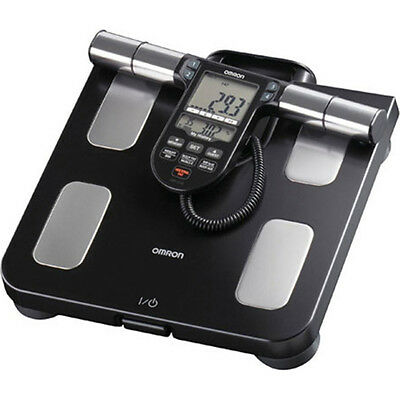 Omron HBF-516B Full-Body Sensor Body Composition Monitor & Scale - Black