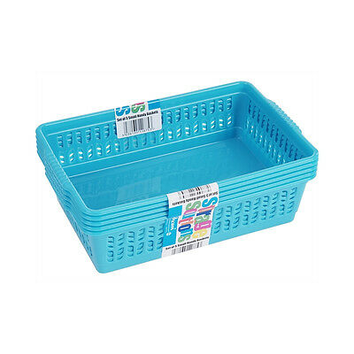 Handy Baskets Small x 5 Assorted