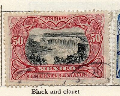 Mexico 1899 Early Issue Fine Used 50c. 074480