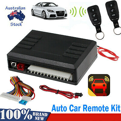 Auto Car Remote Central Kit Control Door Lock Locking Keyless Entry System DT AU