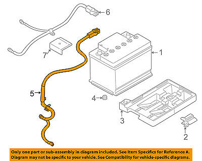 VOLVO OEM 00-04 S40-Battery Cable 30889509