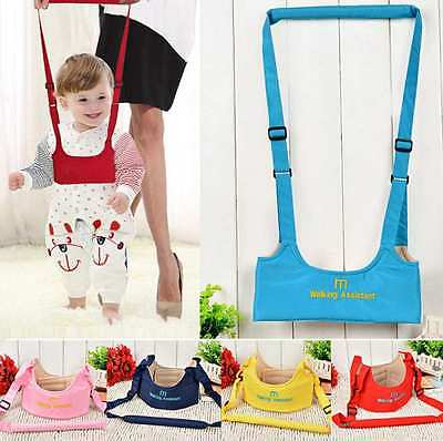 Baby Activity Walker Assistant Jumper Jumping Aid Infant Toddler Harness WalkFea