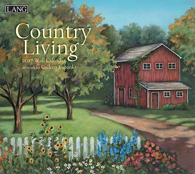 Country Living 2017 Lang Calendar By Colleen Eubanks Packed Well New Free Ship