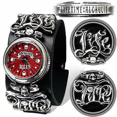 Alchemy UL13 Life Time Pewter Watch BRAND NEW