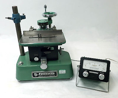 """Federal Electronic Gage 136B-2-R1 Vertical Adjustable Bore Comparator .000005"""""""