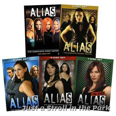 Alias: Complete TV Series Seasons 1 2 3 4 5 Box / DVD Set(s) NEW!